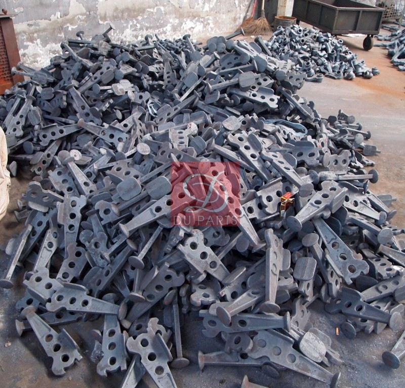 Custom Forging Parts : Forging casting parts for trailers duparts